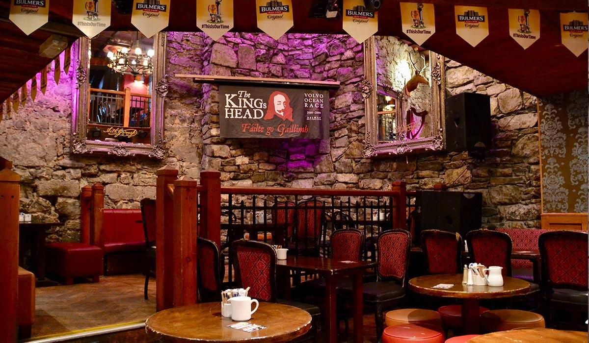 The Kings Head Irish Pub Galway